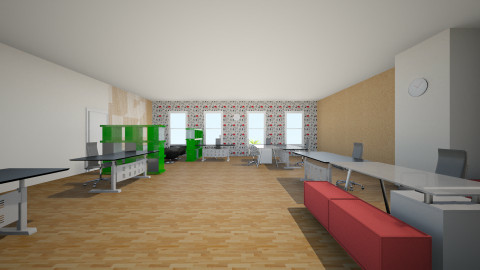 Hava Media offices V2 - 5 - Eclectic - Office  - by haure