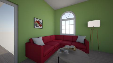 Watermelon - Living room  - by EthanAnderson123