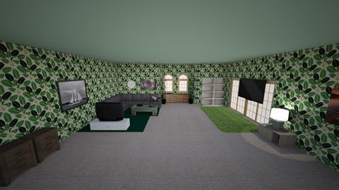 Forest Fields - Modern - Living room  - by Lol a bit
