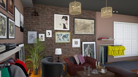 Gallery Cafe Bar View 5 - Modern - by Ejad Shukri