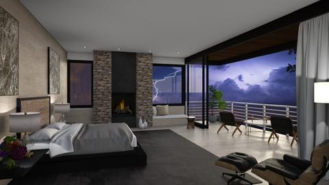 The Thunder - Modern - Bedroom  - by Claudia Correia