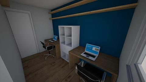 Hobby Room - Office  - by rosedwaterman