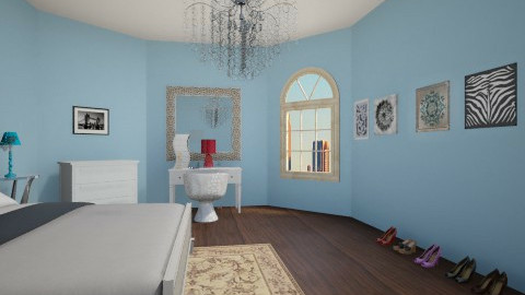 Manhattan project  - Glamour - Bedroom - by jria8