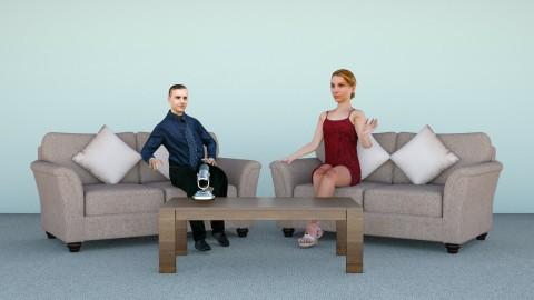 Interviewer setup 2 - Minimal - Office  - by hernankern