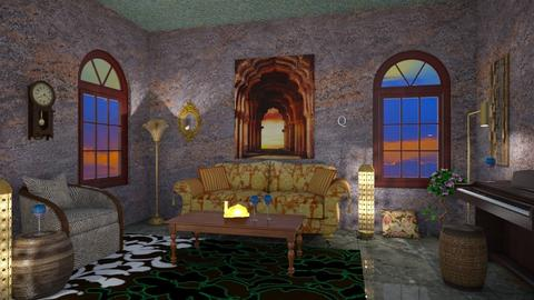 Secret Room - Vintage - Living room  - by Tea B Solvo