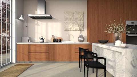 Chestnut Kitchen - Kitchen  - by tokyio