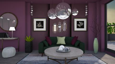 M_Lamps and Round table - Living room  - by milyca8