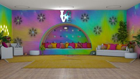 Hippie Room - Retro - by Boo Boo Boo