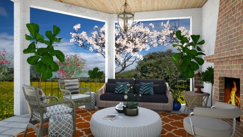 Outdoor Lounge - Modern - Garden  - by 3rdfloor