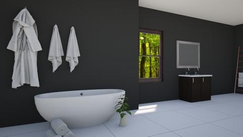 minimalist bath - Bathroom - by sjones23