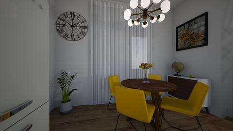 yellow dining  - Classic - Dining room - by westica89