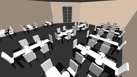 restaurant layout - Classic - by Animefarm