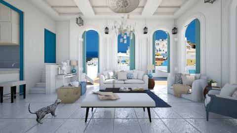 la grecce - Classic - Living room - by Evangeline_The_Unicorn