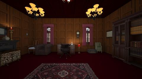 Victorian Style  - Office  - by mspence03