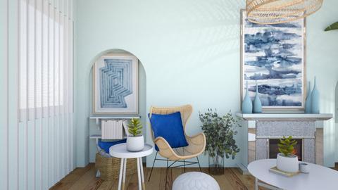 Modern Greek LIving_37 - Living room  - by greekgirl37