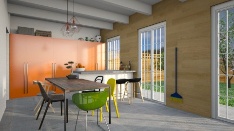 Family Kitchen - Modern - Kitchen  - by 3rdfloor