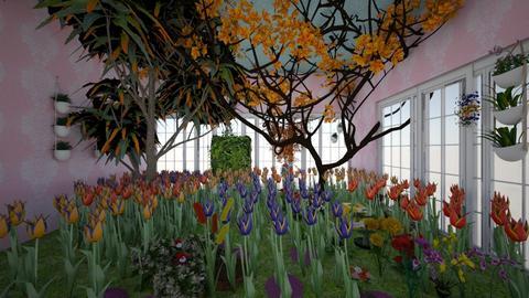 rainas garden - Garden  - by Rainahoe