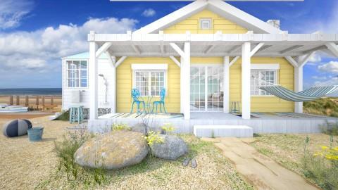Lifes A Beach - Feminine - Garden - by starsector