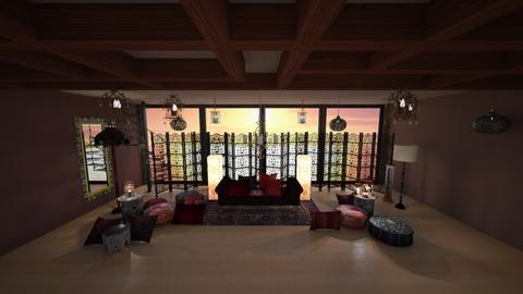 moroccan lala1919 - Living room - by emegabriela