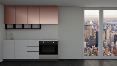 Rose Gold - Minimal - Kitchen  - by kaede11