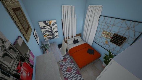 Small bed room - Bedroom - by Mya