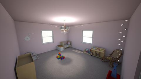 Baby room - Bathroom - by Thea_13