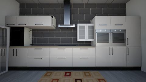 my kitchen  - Modern - Kitchen - by pranavanand