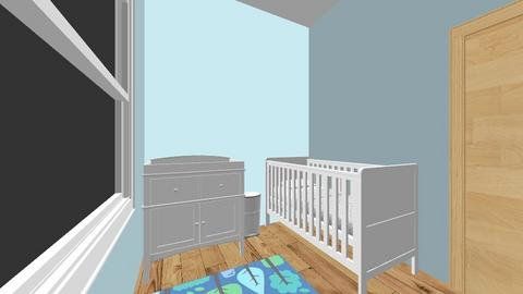 Habitacion Enzo - Masculine - Kids room  - by Kilexa
