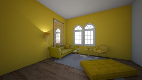 Design Challenge 1 - Living room  - by huppermm