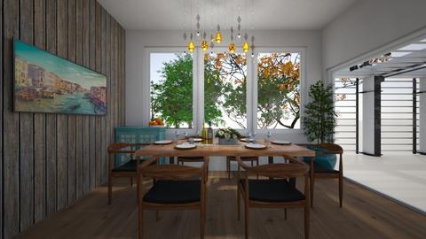 din - Dining room - by GeGe Kanthip
