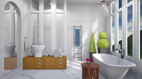 White and Elegant - Modern - Bathroom  - by 3rdfloor