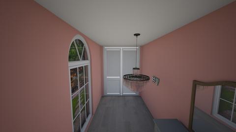 pink hallway  - by wolfie11