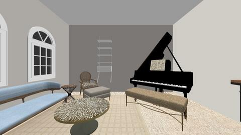 piano room - by Hayley Osborn