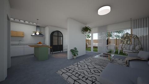 Lital living room 53 - Living room  - by erlichroni