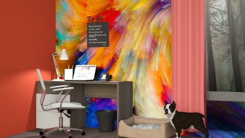 Home Office for Kelly - Office - by Sanja Pipercic