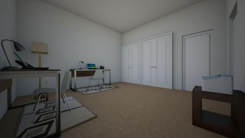 Computer Room - Minimal - Office - by dennisvwu