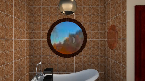 Safari - Minimal - Bathroom  - by Angela Quintieri
