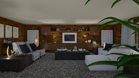 Living in Wood - Modern - Living room - by Claudia Correia