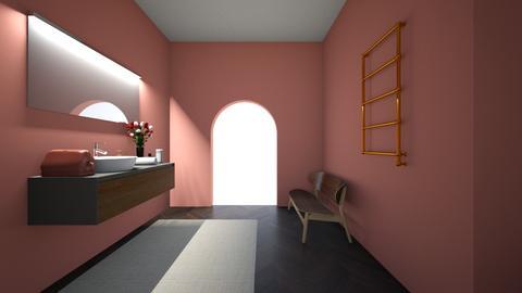 Boheiman Bathroom - Rustic - Bathroom  - by ilovemycorgi40