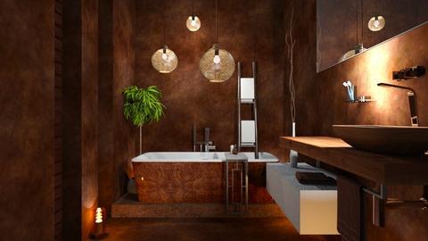 CHOCO - Bathroom  - by zarky