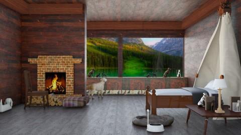 For Daisy  - Rustic - Bedroom  - by InteriorDesigner111