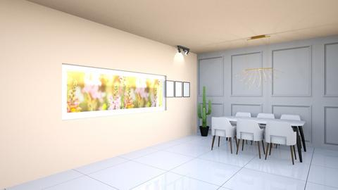 dining room 1 - Dining room - by yaelidesign