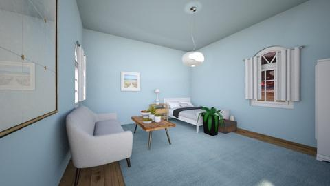 Little beachy hotel room - by FANGIRLdesigner