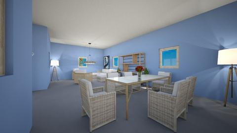 Hang out room - Modern - Living room  - by Mary Saotome