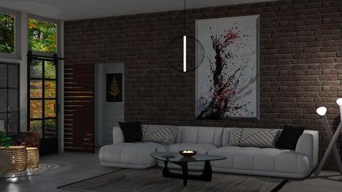 Minimalistic Living room - Living room  - by Sue Bonstra