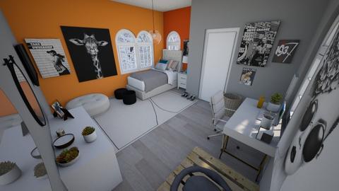 Cute bedroom for girl - Modern - Bedroom  - by Chayjerad