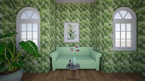 nature - Living room  - by kwiatowa pandzia