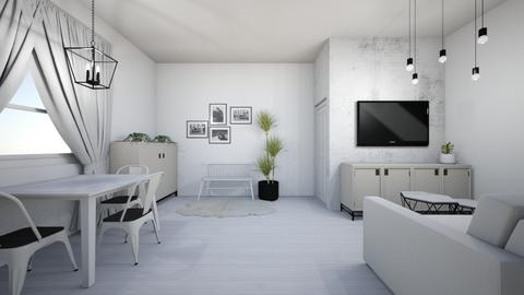 Swedish style - Living room - by DomiMat