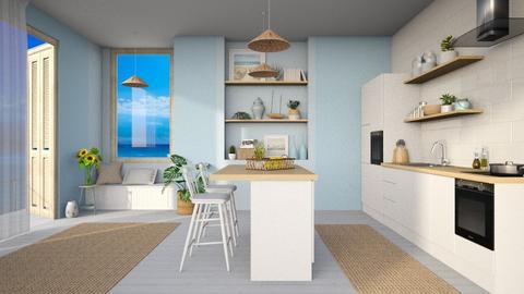 Ocean Inspired - Kitchen  - by djoleitaca