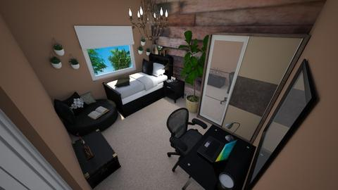 Teen Boys Rustic Bedroom - by Khayla Simpson
